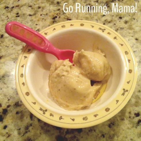 """Go Running Mama- Banana """"Ice Cream"""""""