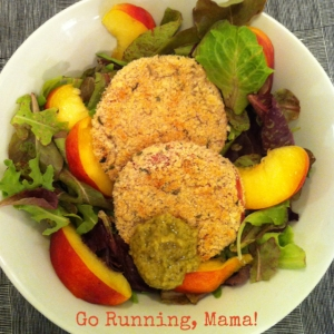 "Go Running, Mama!- Baked ""Fried"" Red Tomatoes"