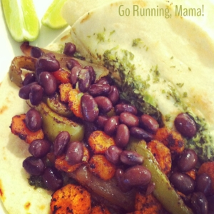 Go Running Mama- Carrot Top Taco Recipe