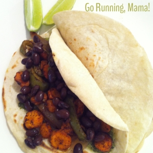 Go Running Mama- Carrot Top Tacos