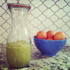 Go Running Mama- Roasted Green Pepper Harissa
