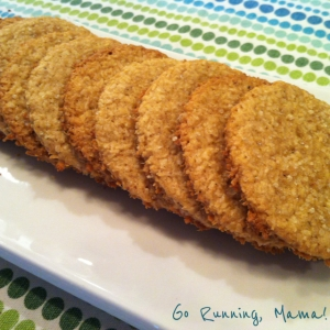 Go Running, Mama!- Coconut Ginger Wafer