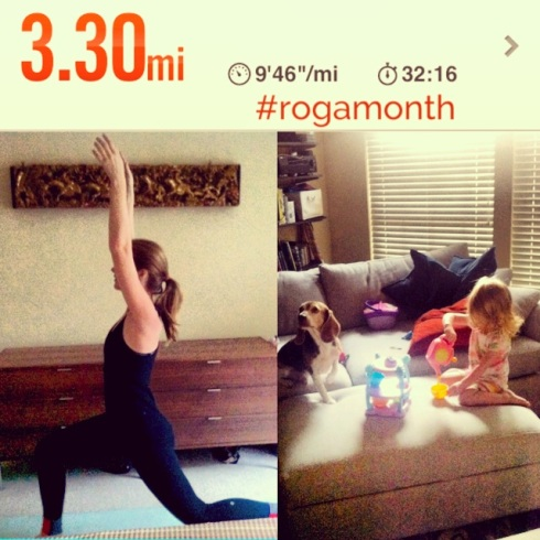 Go Running, Mama!- #rogamonth and Virtual Races