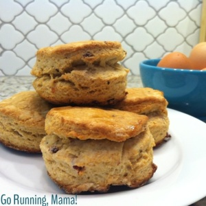 Go Running, Mama!: Maple Bacon Biscuits