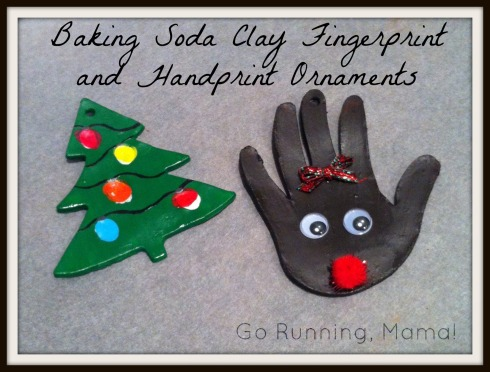 Gifts from the Heart: Smooth Baking Soda Ornaments (A homemade alternative to going to the ceramics studio)- Go Running, Mama!