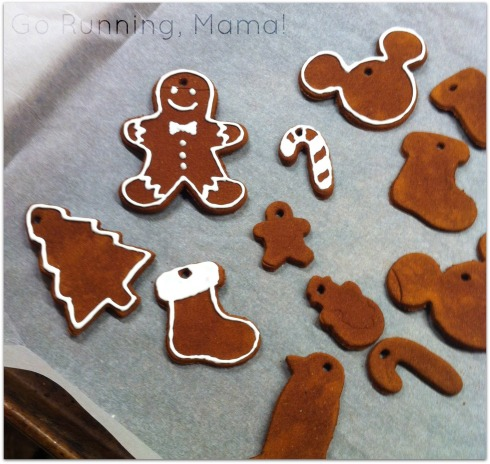Gifts from the Heart: Super Simple Cinnamon Clay Ornaments (No painting or varnishing actually required!)- Go Running, Mama!