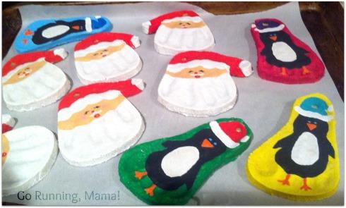 Go Running, Mama! Homemade Salt Dough Ornaments- Easy, Inexpensive Homemade Gifts