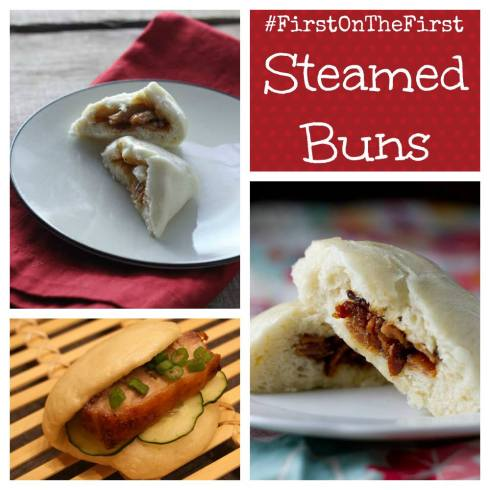 #firstonthefirst Steamed Buns