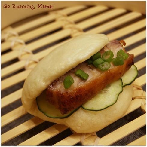 #firstonthefirst Steamed Pork Buns- Go Running, Mama!