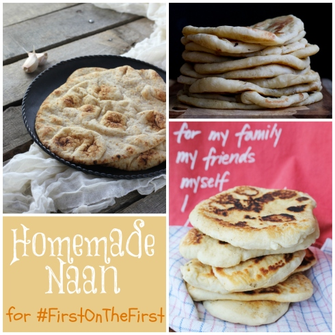 #FirstontheFirst- Homemade Naan