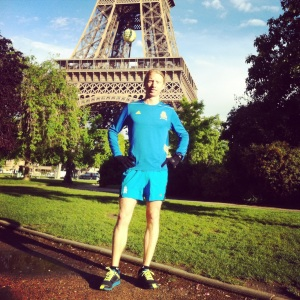 The Hubs on a morning Paris run