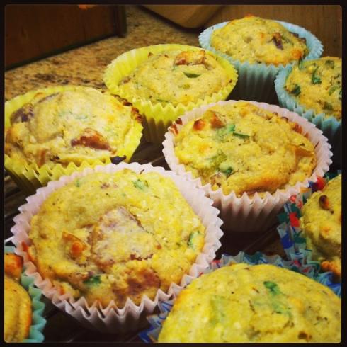 Go Running Mama- Cornbread Stuffing Muffins